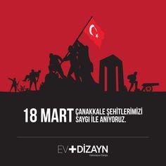 18 Mart Çanakkale Şehitlerimizi Saygı ile Anıyoruz...