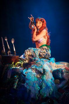 Ariel Voyage of the Little Mermaid Ariel Disney World, Non Disney Princesses, Ballet Costumes, Disney Costumes, Ariels Grotto, Ariel Mermaid, Face Characters, Disney Quotes, Disney Pictures