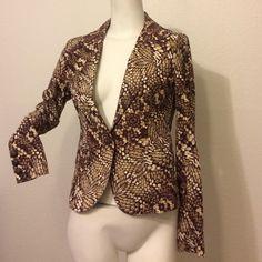 Roberto cavalli blazer Slightly used Roberto Cavalli Jackets & Coats Blazers