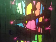 "Ramzi Adek "" Modern & classic "" painting with black Lights , 12 meters/ 4 m ...adagp 2013"