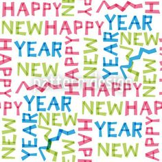 Happy New Year! Design with letters for New Year's Eve. Happy New Year 2014, Happy New Year Wishes, Happy Year, Small Letters, Surface Pattern Design, Vector Pattern, New Years Eve, Beige, Grey