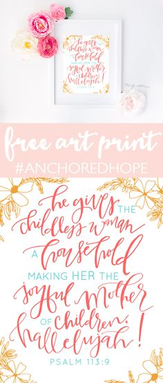 Get this gorgeous print mailed to you for free when you pre-order the new book Anchored: Finding Hope in the Unexpected by @kaylaaimee! #preemie #NICU