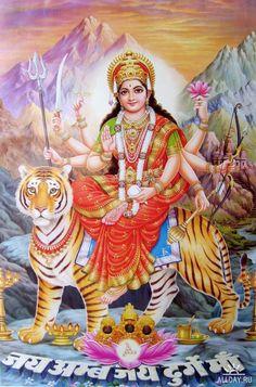 Indian Gods and Goddesses Indian Goddess, Goddess Lakshmi, Divine Mother, Mother Goddess, Shiva Art, Hindu Art, Shiva Hindu, Krishna Art, Durga Ji
