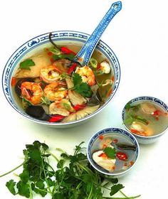 Delicious, hot, sour, and spicy Thai Tom Yum Soup is easy to make at home using these recipes. Discover the secrets of making perfect Tom Yum soup