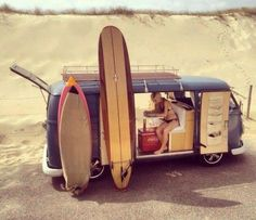 surf van camp out