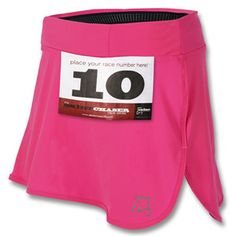 RaceBelt Skirt Running Skirt :) It has a special spot for your race bib so you don't have to safety pin it.