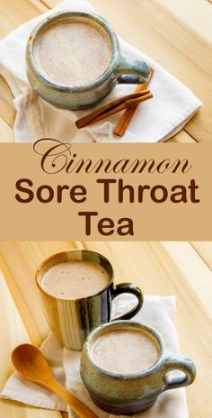 Cinnamon Sore Throat Tea – Life Currents Looking for Home Remedies for Sore Throat? Here is one you can try today. The Cinnamon Sore Throat Tea recipe from /lifecurrents/ will help soothe and comfort when you're sick. Yummy Drinks, Healthy Drinks, Healthy Recipes, Detox Drinks, Sick Recipes, Recipes For Sick People, Food For Sick People, Hot Tea Recipes, Popular Recipes