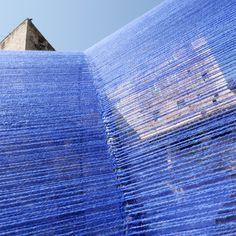 Gallery of Atelier YokYok Designs an Enchanting String Installation in Cahors…