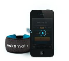 WakeMate–Wake up fresh; sleep smarter - WakeMate #wakeupfresh #snooze #tech
