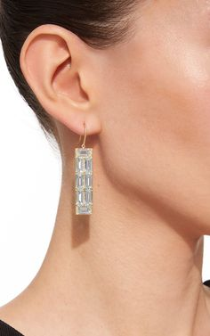 Jamie Wolf aquamarine and white diamond earrings