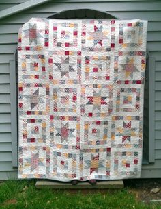 Starry Eyed pattern by Angela for Moda Bake Shop. Love the little square…