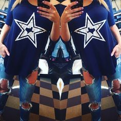 #WINNING Cowboys round bottom high side tunic tops are now in stock S.m.l $28 www.royceclothing.com #royceclothing #freeshipping