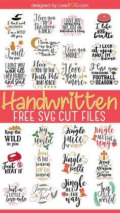 Cricut Svg Files Free, Cricut Fonts, Cricut Vinyl, Free Handwriting, Cricut Tutorials, Cricut Ideas, Cricut Craft Room, Freebies, Circuit Projects