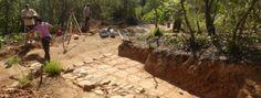 Descubren un nuevo asentamiento romano en Tossa En la zona del bosque de Mas d'en Ferro | Se trataría de una construcción que dataría entre los siglos I aC y I dC