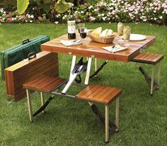 Suitcase Picnic Table!