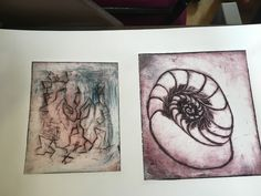 Drypoint printing at Rural Arts half term workshops with young people!   Printmaking, etching   www.ruralarts.org