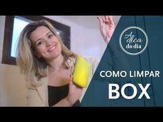COMO LIMPAR BOX DE BANHEIRO - A Dica do Dia - YouTube