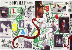 BodyMap Body Map, Game Start, Fashion Labels, British Style, 80s Fashion, 1980s, Graphics, Fresh, Prints