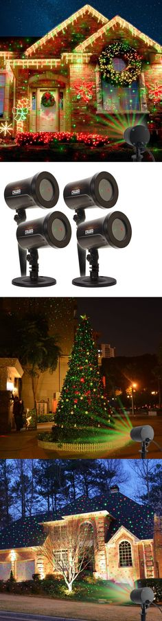 Lights 38229: Poeland Outdoor Star Projector Lights Moving Starry ...