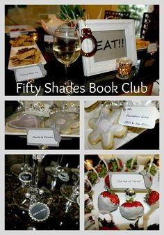 Book Club:  Great reason to throw a Fifty Shades of Grey party!