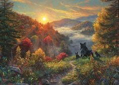"New Day"""" Bear 1000 Piece Puzzle"