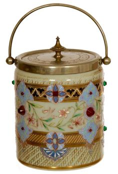 Beautiful Biscuit Jar