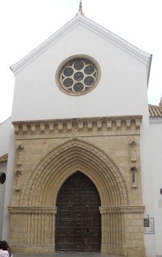 Santa Catalina-1 , Geometría en la Iglesia gótico mudéjar del siglo XIV, de  Sevilla