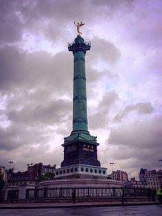 Columna de Julio, Plaza de la Bastilla (Paris - France)