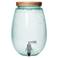 Plastic Round Bubble Beverage Dispenser Green - Threshold™