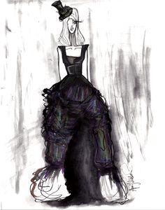 Sketch by April Johnson