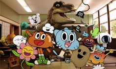 What kind of animation was used to create The Amazing World of Gumball? - Quora