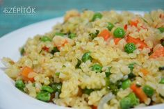 Quinoa, Stir Fry, Fried Rice, Food To Make, Side Dishes, Bacon, Food And Drink, Salad, Healthy