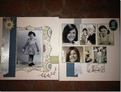 Avonlea Layout of my mom Vintage Scrapbook, Scrapbook Pages, Current Catalog, Love Craft, Close To My Heart, Page Layout, Scrapbooking Layouts, Scrapbooks, Craft Stores
