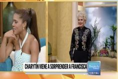 Charytin Goyco Sorprende en vivo a Francisca Lachapel en Despierta America