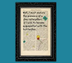 The Little Prince Art print on Book page - Le Petit Prince Gift Nursery Dictionary Art Poster Book Decor Dorm Gift Wall Exupéry Art (Nº13)