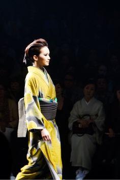 Kimono style  JOTARO SAITO×SANSAI SAITO 2015 Japan fashion week