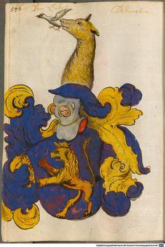 Scheibler'sches Wappenbuch Süddeutschland, um 1450 - 17. Jh. Cod.icon. 312 c Folio 576