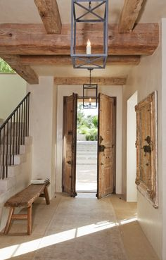Rustic Home Interior Desgins Would you like to be better equipped next time you set out to purchase furniture for your home? If you're seeking more information about furniture purchases, then this article is going to assist you with House Design, House, Interior, Rustic Home Interiors, House Styles, House Interior, Home Deco, Wood Doors Interior, Rustic House