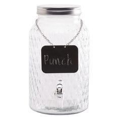 Living & Co Chalk Drink Dispenser 6L