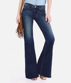 New Express 4 R Dark Rinse Distressed Faded Mid Rise Wide Leg Flare Jeans 4R | Clothing, Shoes & Accessories, Women's Clothing, Jeans | eBay!
