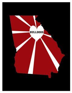 Bulldogs are the heart of Georgia