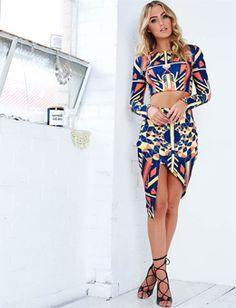 Rise Of Dawn Veracruz Mid Skirt