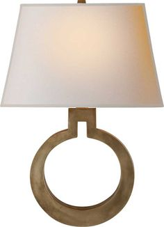 LARGE RING WALL SCONCE