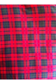 Cotton Flannel Plaid 24 by SOFIRETAIL on Etsy