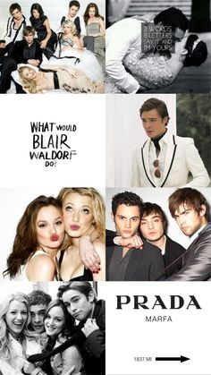 Gossip girl, xoxo, blair waldorf, chuck bass, serena, dan, nate, black and white
