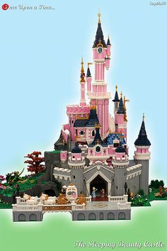 Lego MOCS Fantasy ~ Once Upon a Time... The Sleeping Beauty Castle | by Stephle59