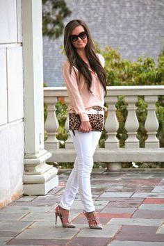 Leopard + Blush