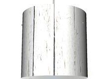 Deckenlampe 26cm mit Motiv Weißer Bretterzaun