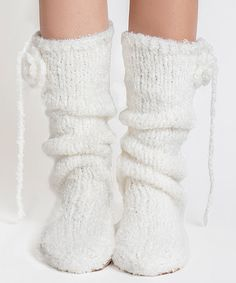 Take a look at this Ice Bouclé Mukluk Slippers on zulily today! I just love the muk luk brand don't you everything's just so well made beautiful and cozy warm!