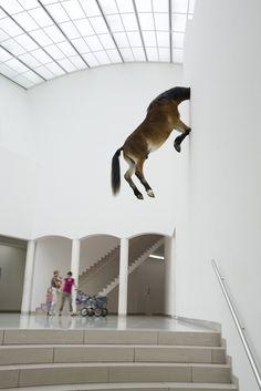 Maurizio Cattelan :: Kunsthaus Bregenz Austria : L'esprit □ ro-to-no